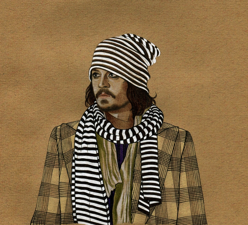 Johnny Depp par op